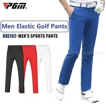 Pgm Summer Golf Men's Pants Elastic Casual Sports Pants Comfortable Quick Dry Male Trousers Mens Tennis Baseball Wear XXS-XXXL