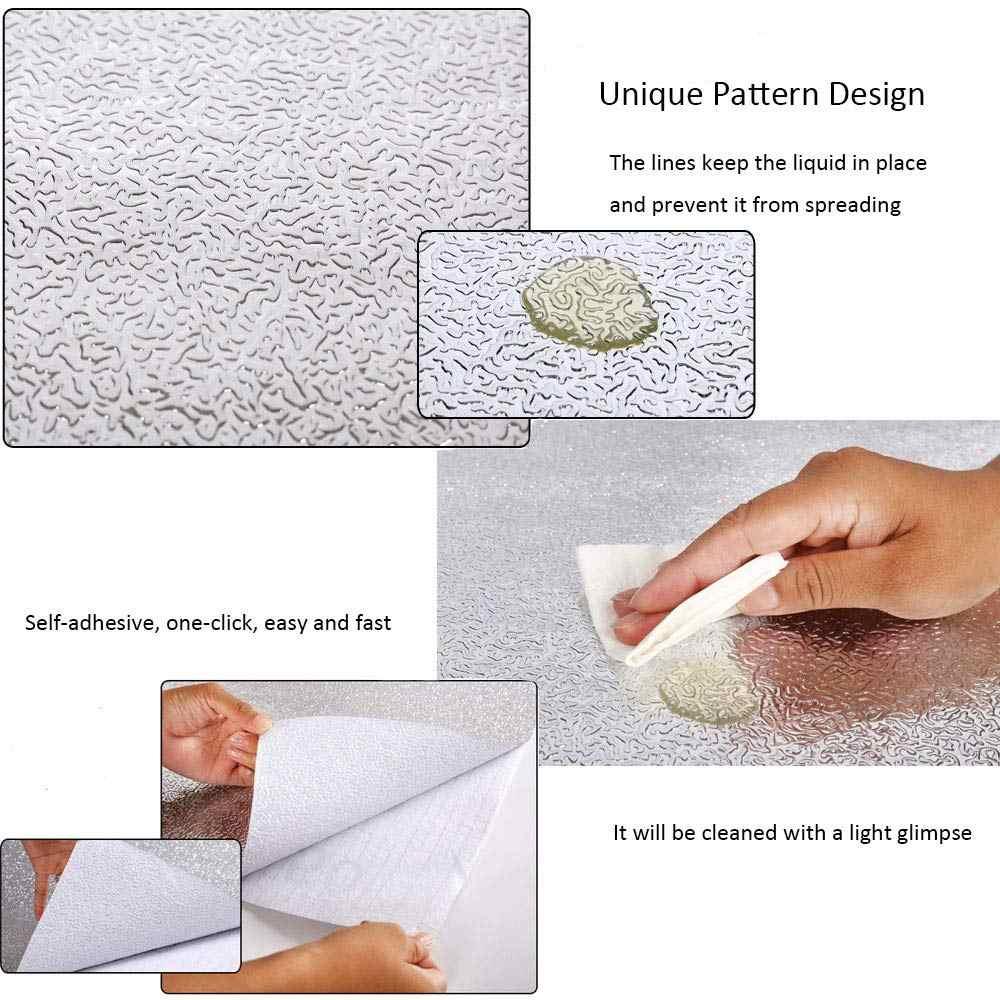 Papier peint auto-adhésif imperméable, feuille d'aluminium 3M/5M/10M, pour meubles