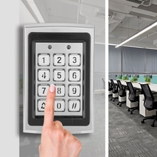 Access Controller RFID Card Door Access Controllers Keypad With Backlight Security Door Access Control For Home Offices cards code card code waterproof rfid card door access controller keypad with backlight security door access control