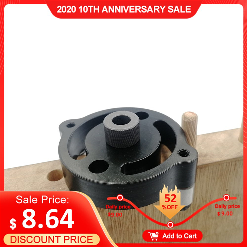 Self-centering 6 8 10mm Dowel Jig Wood Panel Puncher Hole Locator Beech Central Holing Position Measuring Drilling Woodworking
