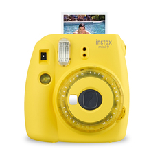 Fujifilm كاميرا Instax Mini 9 للصور الفورية ، للأطفال ، أعياد الميلاد ، الكريسماس ، رأس السنة الجديدة