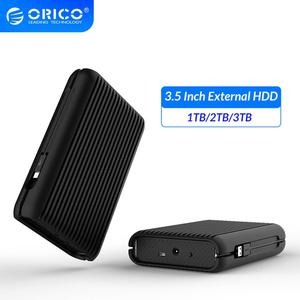 ORICO 3.5 Inch External Hard Drive Disk HDD 1TB 2TB 3TB USB C Hard Disk HD USB3.1 Gen2 10Gbps Type-C Cable With EU Power Adapter