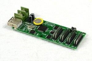 Image 3 - 5 قطعة/الوحدة XY UA/ HC 1(4xHub75B) كامل اللون رمادي خلفية الرسوم المتحركة LED بطاقة التحكم ، RGB عرض صغيرة
