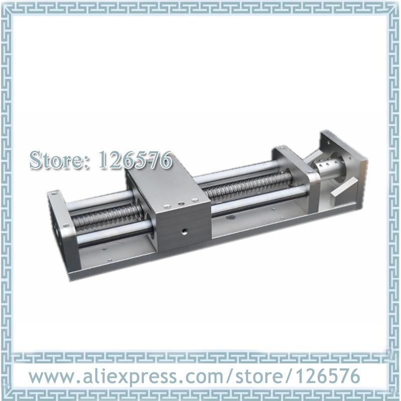 Cnc Sliding Table Effective Stroke 300mm, Ball Screw SFU1605 CNC Z Axis Linear Motion Sliding Table