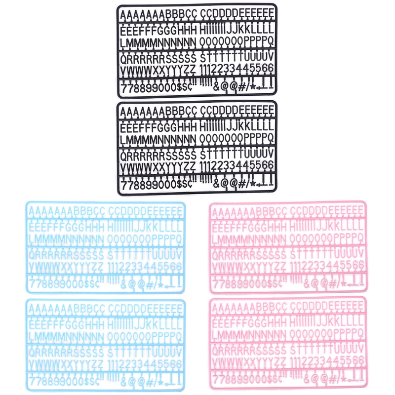 3/4 Inch Letters for Flet Letter Boards 300 Pieces for Changeable Message Boards C90C