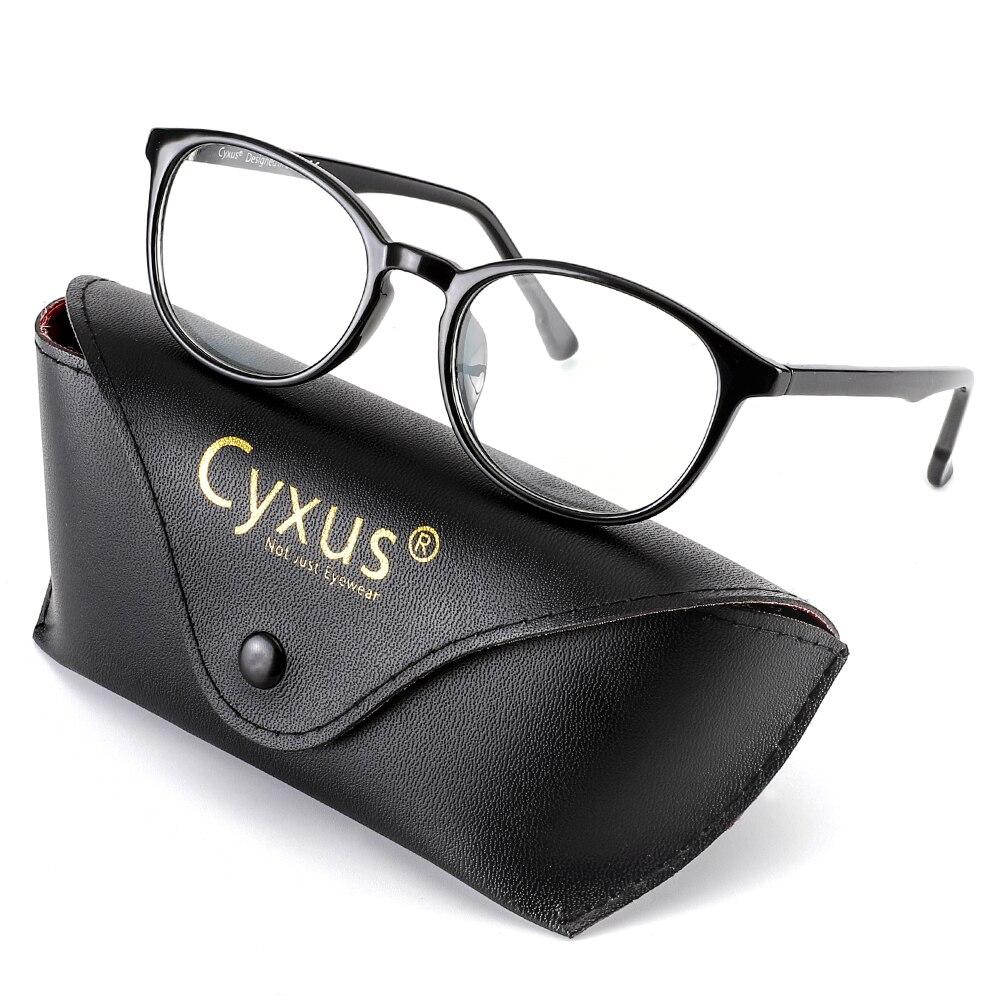 Cyxus Anti Blue Light Computer Glasses  For Blocking UV Headache [Anti Eye Eyestrain] Unisex - 8561