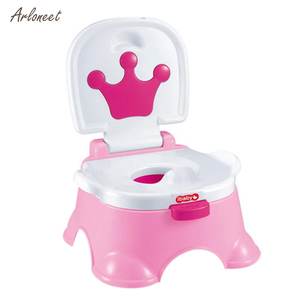 Musical Fun Potty Training Chair Trainer Portable Kids Toddler BOY Girl Bathroom Toilet Urinal Yellow