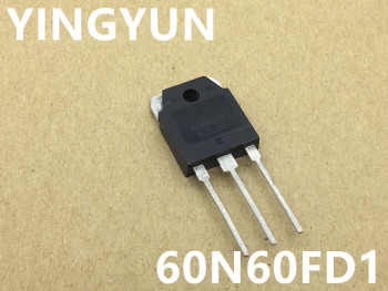 10PCS/LOT  60N60FD1 SGT60N60FD1PN TO-3P 600V 60A  IGBT single tube for welding machine fsw1190a to 3p