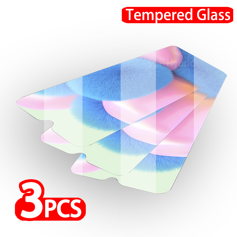 3pcs Transparent Tempered Glass Screen Protector On For OPPO Reno 2 2Z 2F 2 Z 2 F  Safety Transparent Protective Glass Glas