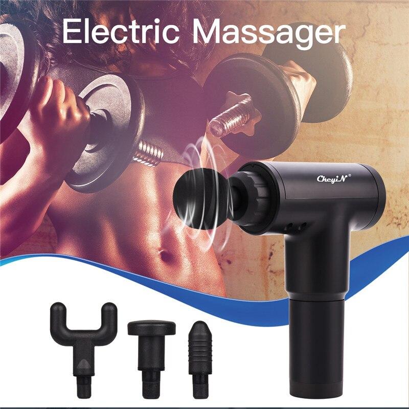 Multi function Electric Deep Massage Gun Fascia Gun Stimulator