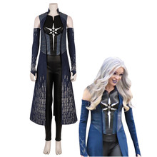 The Flash Season 6 Killer Frost Cosplay Costume Superhero Outfit Anime Carnival Halloween adult Caitlin Snow suit Custom Made(China)