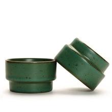 Tea-Cup Kiln Ceramic Pottery Handmade Baked Kung-Fu Coarse Antique