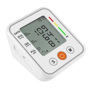 Image 4 - אוטומטי רפואי עליון זרוע שרוול מד לחץ דם צג חכם מכונה Bp קצב לב Tonometer מד לחץ דם Tensiometer