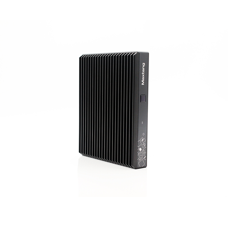 AMD 2500U Mini PC Quad Core Linux Fanless minipc 2 * LAN 6 * USB HDMI - 3