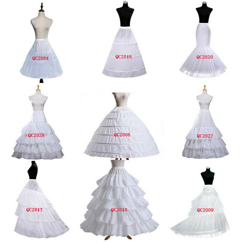 Free Shipping Wedding Petticoat Crinoline Slip Underskirt Bridal Dress Hoop Vintage Slips Wedding Party Accessories