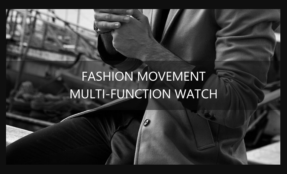 MEGALITH Watches Mens Waterproof Analogue Clock Fashion Stainless Steel Waterproof Luminous Watch Men Sports Relogio Masculino