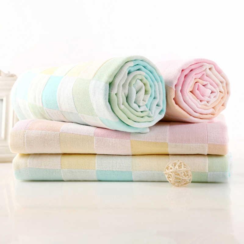 Toalla de baño para bebé, babero para recién nacido, toalla de alimentación, pañuelo de gasa de muselina