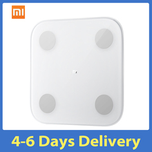 جديد Xiaomi مي الجسم تكوين مقياس 2 الذكية الدهون الوزن الصحة مقياس BT5.0 اختبار التوازن 13 التاريخ الجسم BMI الوزن مقياس مي صالح التطبيق