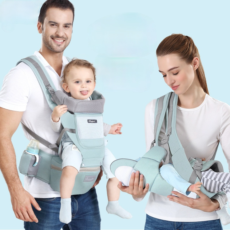 The Baby Sling Waist Stool Can Store The Baby Waist Stool, The Front and Rear Dual-use, Easy To Go Out Carry The Children's Bag