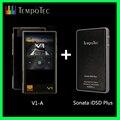 (Sonata Idsd Plus) + (V1-A), amplificatore per Cuffie Tempotec Dac Usb di Sostegno Win Macosx Android Iphone Vero Blance Dual Dac Dsd Hifi