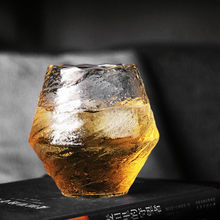 Japanese Handmade Hammered Whiskey Glass Heat-Resistant Juice Cup Liquor XO Whisky Crystal Wine Glass Cognac Brandy Snifter