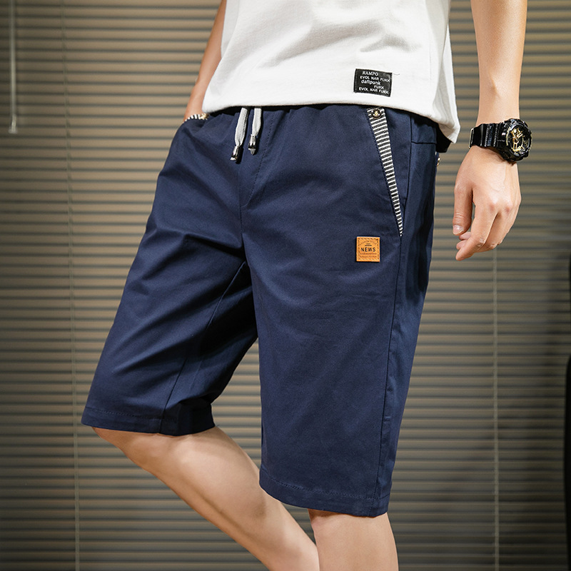 2019 Summer Shorts Men Thin 5 Short Shorts Korean-style Trend BOY'S Casual Sports Beach 7 Capri Pants