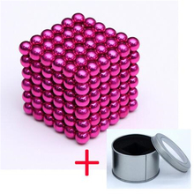 Magnetic Balls - Classic of 216pcs 3mm - Fun Stress Relief Desk Toy for Adults Puzzle Cube Ball Mashable Smashable Buildable
