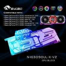 Water-Block Vga-Cooler Graphic Bykski Igame Colorful 3090 Rtx 3080 GPU for 3090/ultra-Oc