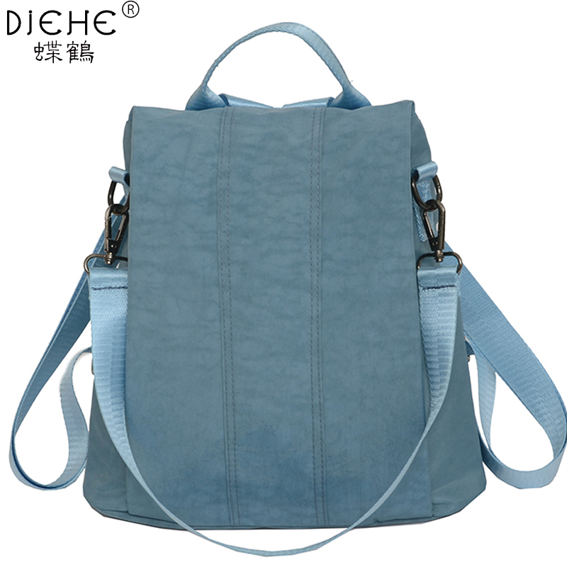 Водонепроницаемый нейлоновый женский рюкзак, противоугонная женская сумка для девочек, модный школьный рюкзак на плечо, дорожная сумка для спины, Mochilas Sac A Dos Рюкзаки      АлиЭкспресс