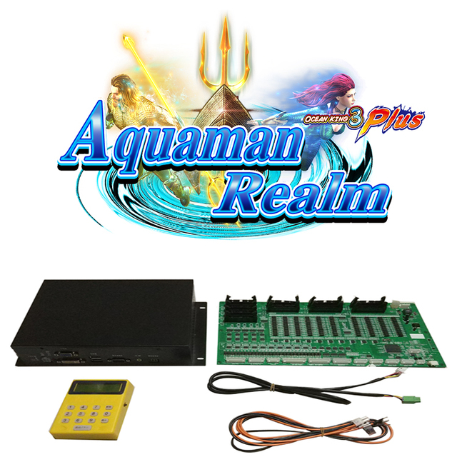 USA High Profit Hot Selling Fish Game Table Gambling Machines For Sale Ocean King 3 Plus Aquaman Realm 1