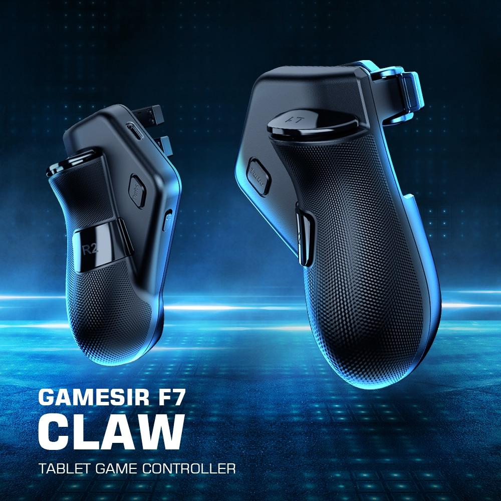 Игровой контроллер для планшета GameSir F7 Claw, подключи и играй, геймпад для планшетов iPad/Android, Нулевая задержка для PUBG, звонок на работу