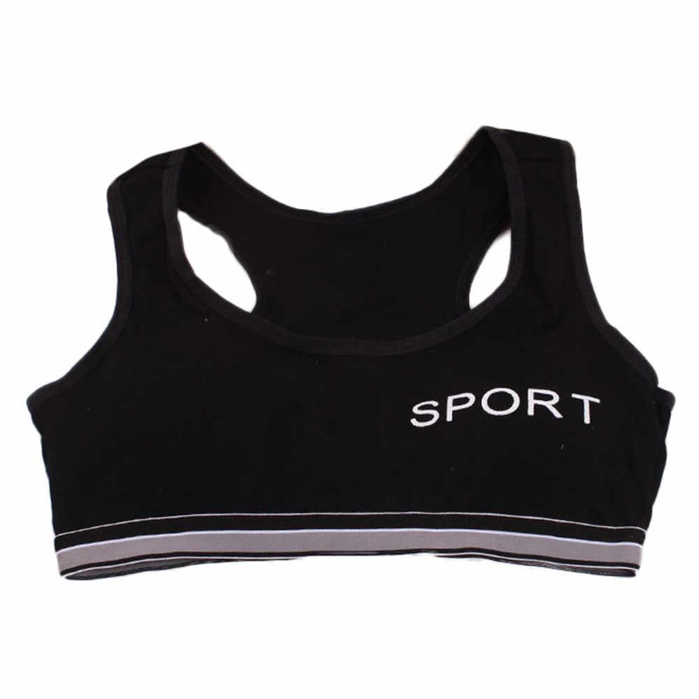 ARLONEET Crianças Meninas Underwear Bra Colete Roupas Íntimas Das Crianças Esporte Roupa Interior 25