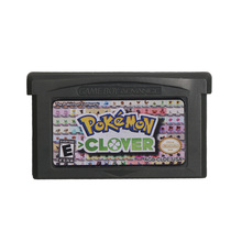 For Nintendo GBA Video Game Cartridge Console Card Poke Series Clover English Language US Version