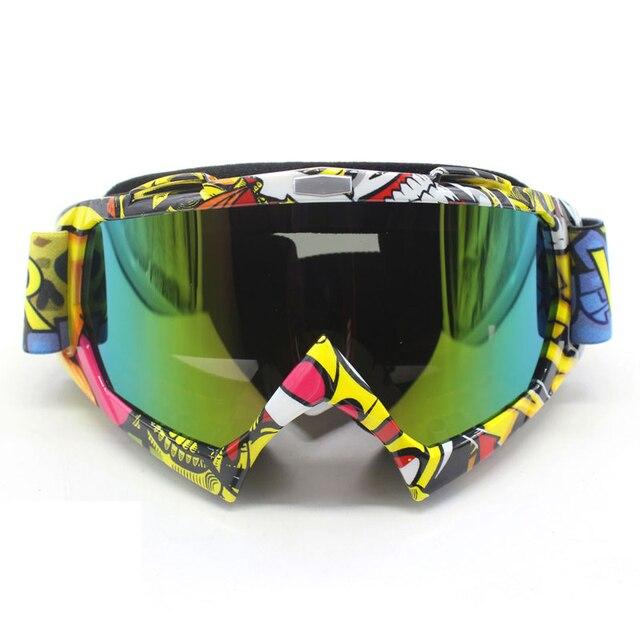 Nordson ao ar livre óculos de proteção da motocicleta ciclismo mx fora de estrada de esqui esporte atv bicicleta da sujeira óculos de corrida para a raposa motocross óculos google 5