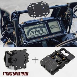 Motorcycle Accessories For YAMAHA XT1200Z XT 1200 Z Super Tenere 2017-2020 mobile phone USB Navigation bracket GPS smartphone