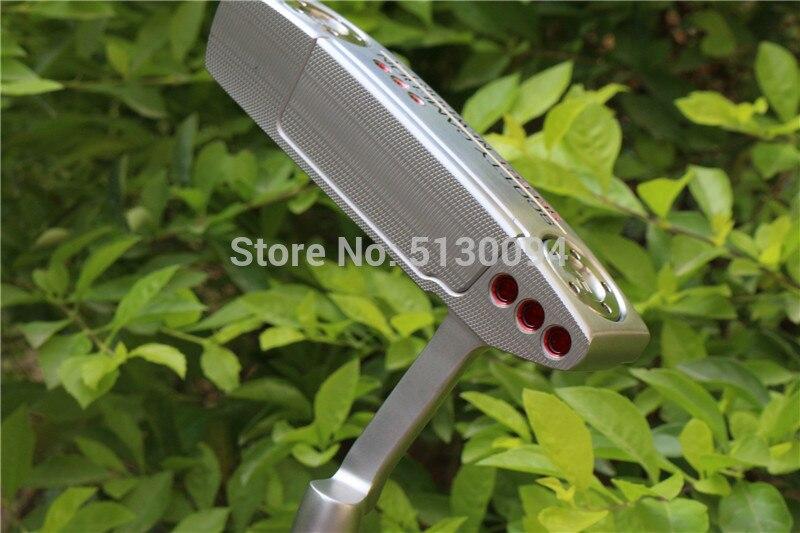 Gaucher Newport2 Golf clubs Golf putter 32.33.34.35.36 pouces avec Golf acier arbre et clé putter headcove livraison gratuite