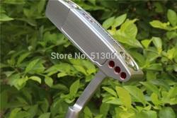 MANO IZQUIERDA Newport2 palos de Golf putter 32.33.34.35.36 pulgadas con eje de acero de Golf y llave putter headcove envío gratis