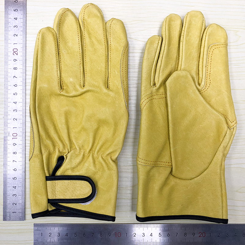 QIANGLEAF Defective Superfine Fiber Leather Work Gloves Clearance