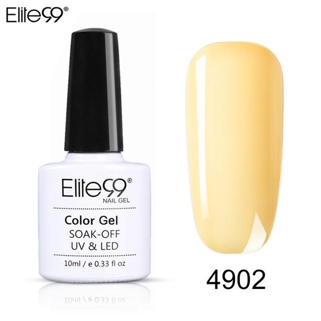 Elite99 Fluoreszierende Gel Nagellack Hybrid Lack Alle Für Maniküre Semi Permanent Nägel Kunst Gel Macaron Nagellack Primer