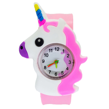 relogio masculino cute horse pattern Kids Watches Electronic