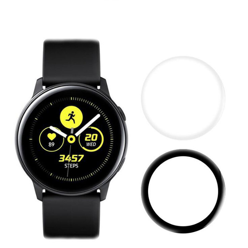 3D Curved Soft Full Edge Cover Protective Film For Samsung Galaxy Watch Active 2 40mm 44mm Active2 Screen Protector Pretection
