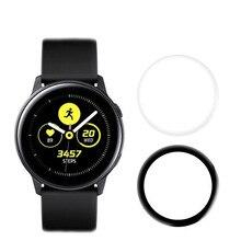 3D изогнутая мягкая полноразмерная Защитная пленка для Samsung Galaxy Watch Active 2 40 мм 44 мм Защитная пленка для экрана Active2
