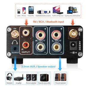 Image 3 - Nobsound HiFi Bluetooth 5.0 דיגיטלי מגבר סטריאו מקלט שולחן העבודה אוזניות Amp SD / USB מוסיקה נגן FM רדיו