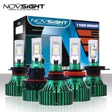 NOVSIGHT H4 LED H7 H11 Car Led Headlights 60W 16000LM H8 H9 9005 9006 Driving Fog Light Bulbs Play and Pluy Fog Lamps 6500K