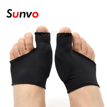 Sunvo Silicone Gel Hallux Valgus Care Pads for Bunion Orthopedic Sock Toe Separator Correction Foot Pain Relieve Sleeve Inserts orthopedic insole palmilha ortopedicas hallux valgus correction toe separating overlap orthotics shoe inserts foot care pad