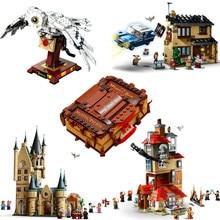 Конструктор MOC Magic Castle In Sky, совместимый с залом, Квиддич, экспресс-матч, Buckbeak, спасательный конструктор Hedwig, игрушки