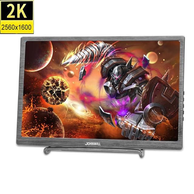 10.1 inch HD 2K touch screen Gaming monitor pc small portable LCD Display IPS 2560*1600 Type C 2