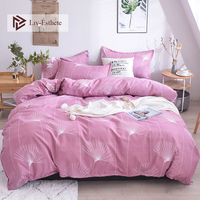 Liv Esthete Fashion Dandelion Bedding Set Comforter Duvet Cover Set Bedspread Pillowcases Flat Sheet Double Queen King Bed Linen