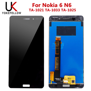 Image 2 - LCD Display For Nokia 6 N6 TA 1021 TA 1033 TA 1025 LCD Display Digitizer Screen With Touch Complete Assembly for Nokia 6 Display