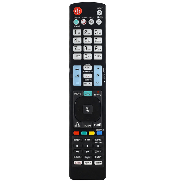 Mando a distancia adecuado para Lg TV AKB73756502 42LA667 42LA6678AEU 42LA667S 42LA690 Huayu